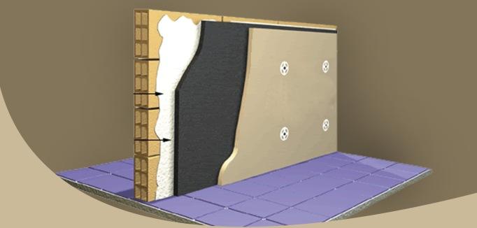 Τοίχος με μόνωση